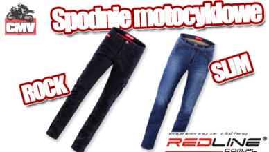 spodnie motocyklowe redline rock slim opinia