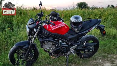 przerabianie motocykli sv650a