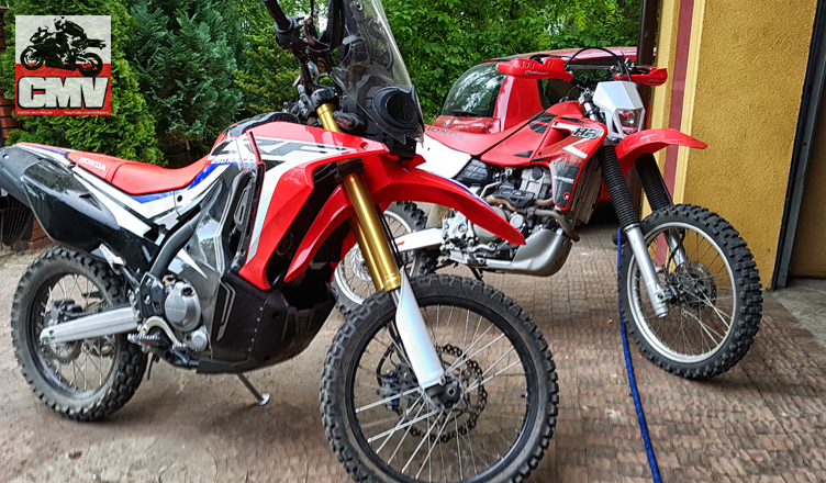 CRF250 Rally i XR650