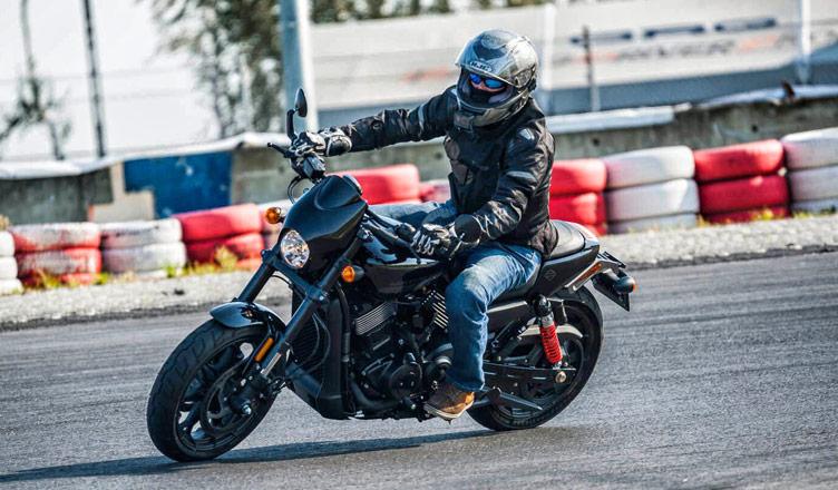 Harley-Davidson-Track-Day
